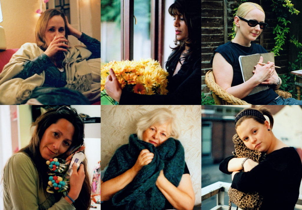 6 photos of mothers holding something that gives them comfort