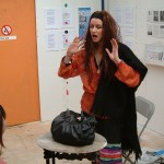 performance at a gallery