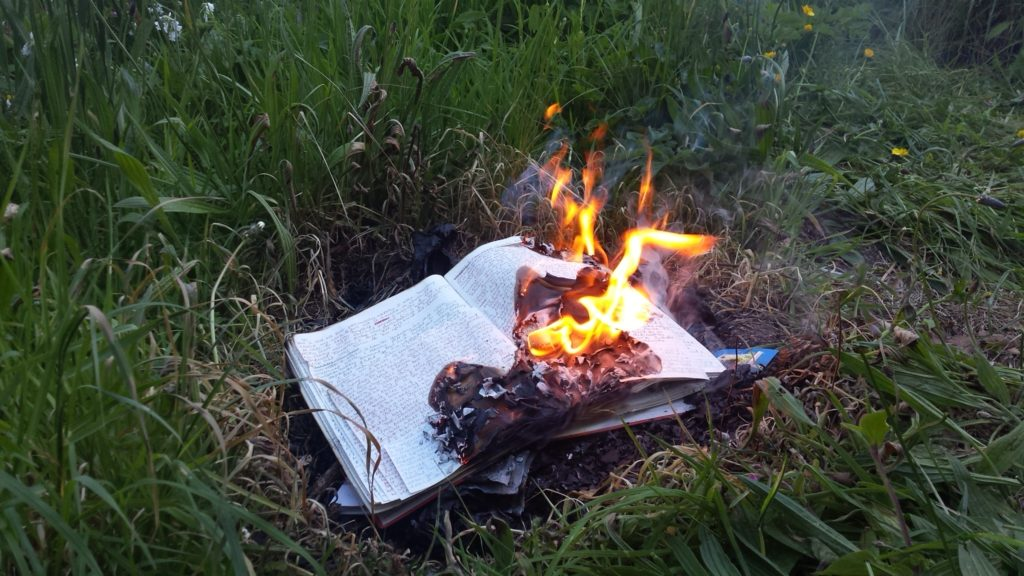 burning diary